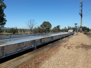 36m concrete weighbridge Muswellbrook photo 2 coal