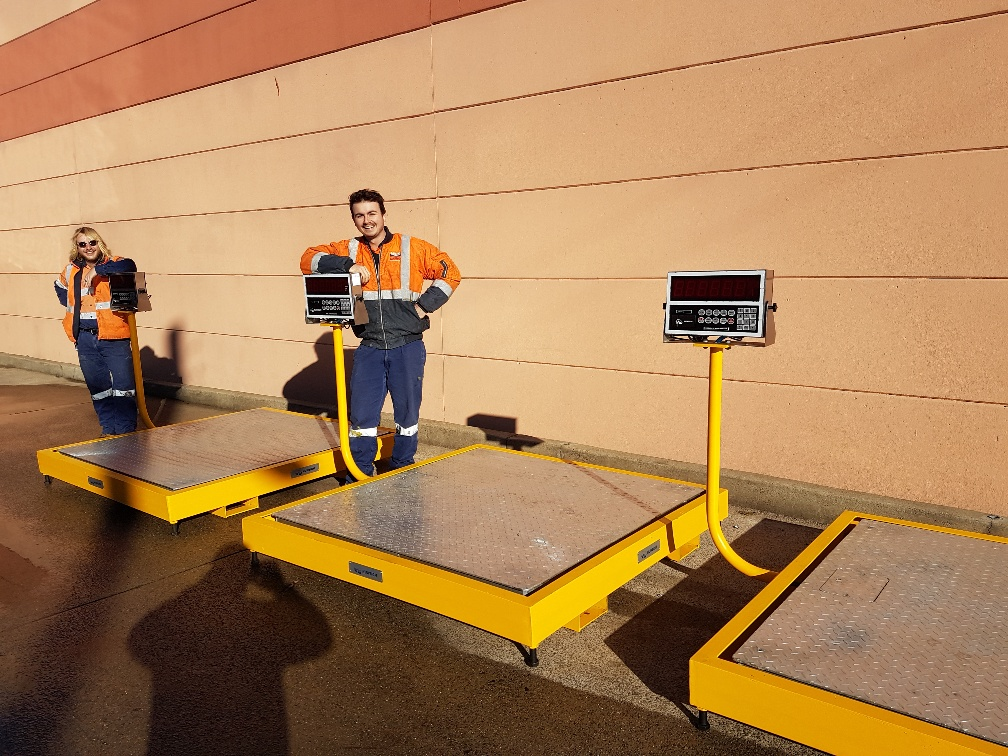 Nuweigh Heavy Duty Platform Scales Made To Order